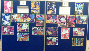 P1 & P2 Pupils Art Work