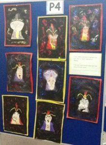 P3-4 Pupils Art Work