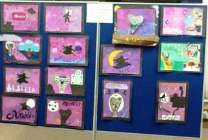 P5 Pupils Art Work